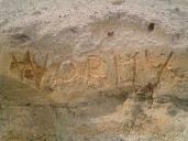 wormy sand