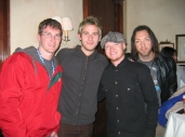 Nic with Lifehouse