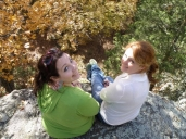 Me and my friend at Garden of the Gods