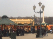 Christmas Market in front of castle