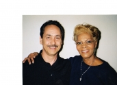 Me and Dionne Warwick