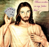 Poker Jesus