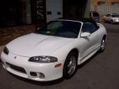 5-Speed Mitsubishi Eclipse Spyder-GS Convertible