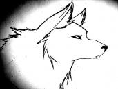hand made wolf.