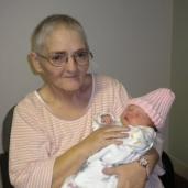 GG Mary holding Matilda