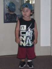 My Grandson Justin