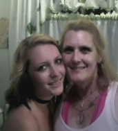 My daughter & I Apr 2012