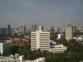 From the window of Borobudur Hotel