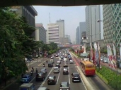 Thamrin avenue, other side